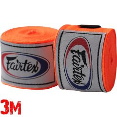 Боксерские бинты Fairtex Orange 3м