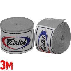 Боксерские бинты Fairtex Grey 3м