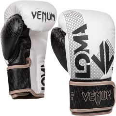 Боксерские перчатки Venum x Loma Arrow Black/White