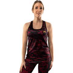 Женская тренировочная майка Venum Defender 2.0 Black/Red
