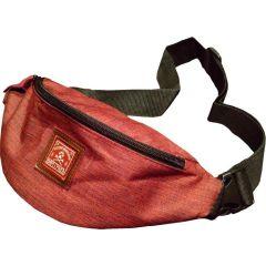 Поясная сумка Варгградъ Странник красный джинс