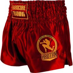 Шорты для тайского бокса Hardcore Training Base Red