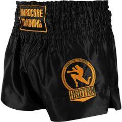 Шорты для тайского бокса Hardcore Training Base Black