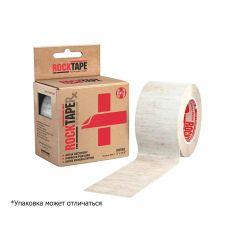 Кинезиотейп RocktapeRX Cotton (Хлопковый для Лица), 5см x 5м, черный