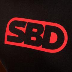 Футболка SBD женская (модель 2020 года) - черный/красный